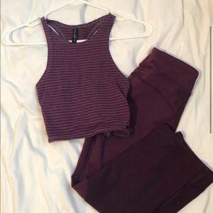 Purple Workout Set